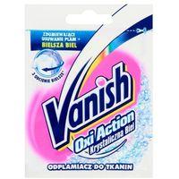 VANISH 30g Oxi Action Krystaliczna biel Odplamiacz do tkanin