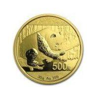 30g Chińska Panda - Złota Moneta Rocznik 2016 - Dostawa Natychmiastowa z kategorii numizmatyka, filatelistyk