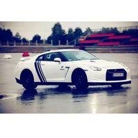 Jazda Lamborghini vs. Nissan GTR - Toruń \ 1 okrążenie