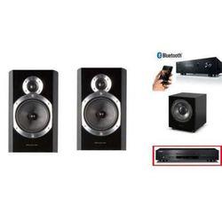 YAMAHA R-S202D + CD-S300 + WHARFEDALE DIAMOND 10.0 + WH-D8 - wieża, zestaw hifi - zmontuj tanio swój zestaw na stronie z kategorii Zestawy Hi-Fi