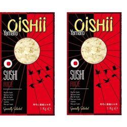 Ryż do sushi yamato 2 x 1kg = 2kg marki Oishii