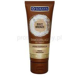 Soraya  beauty bronze samoopalający krem do twarzy do jasnej skóry + do każdego zamówienia upominek., kate