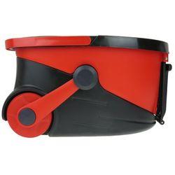 Mop obrotowy na kółkach PAOTUO czerwony - Czerwony (5902921964612)