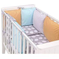 14-el pościel do łóżeczka z ochraniaczem modułowym - zestaw 48 marki Mamo-tato