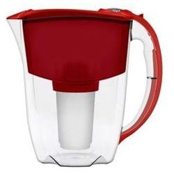 Aquaphor Dzbanek  prestige 2,8 l czerwony + 3 wkłady b100-5 (5901549313123)