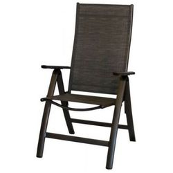 Rojaplast Krzesło LONDON antracyt-czarny - produkt z kategorii- Krzesła ogrodowe