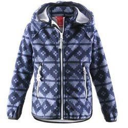 Bluza z wiatorszczelnego polaru Reima Ajatus windstopper granatowa - produkt z kategorii- Pozostała moda i st