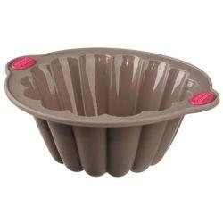 Okrągła forma do pieczenia ciast - silikonowa, 22 cm marki Secret de gourmet