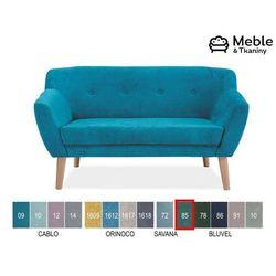Signal meble Sofa bergen 2 velvet tapicerka bluvel 85