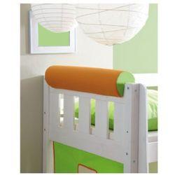 TICAA Wałek/podłówek do łóżka kolor pomarańczowo-zielony
