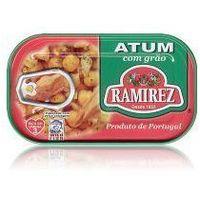 Tuńczyk portugalski z ciecierzycą  120g marki Ramirez