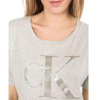 Calvin Klein Teca-17 Koszulka Szary S, kolor szary