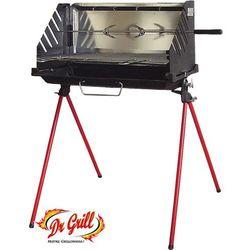 Grill z Żeliwnym Paleniskiem 55cm x 28cm Dr.Grill (ABQ5528) (grill ogrodowy)