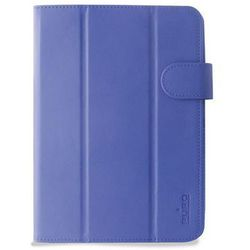 PURO Universal Booklet Easy - Etui tablet 8'' w/Folding back + stand up + Magnetic Closure (granatowy) (etui na tablet)