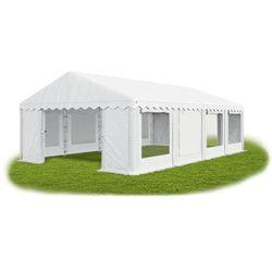 Namiot 4x8x2, solidny namiot ogrodowy, summer/pe 32m2 - 4m x 8m x 2m marki Das company