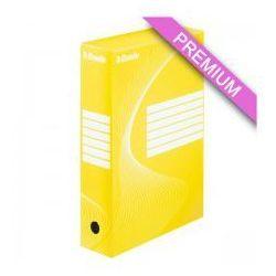 Pudło archiwizacyjne  80mm żółte marki Esselte