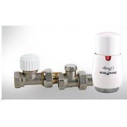 Zestaw zawór termostatyczny prosty z nastawą wstępną Mera Term - oferta (5566d5aa1ff3c432)