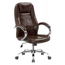 Halmar Fotel gabinetowy cody brązowy