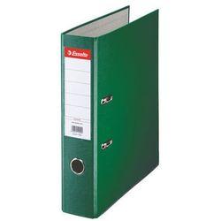 segregator a4 ekonomiczny z mechanizmem dźwigniowym 75mm, zielony marki Esselte