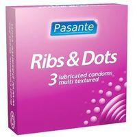 Pasante Ribs&Dots (1 szt.)