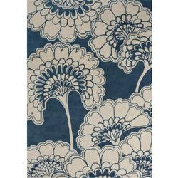 C&m Dywan japanese floral midnight