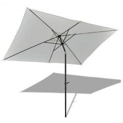 Parasol przeciwsłoneczny w prostokątnym kształcie (3x2 m), biały ze sklepu VidaXL