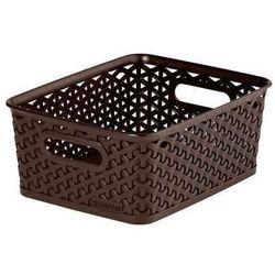 Koszyk My Style 8 l ciemny brąz, towar z kategorii: Kosze na pranie