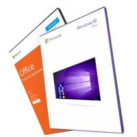 Windows 10 Professional + Office 2016 Home and Business (ESD) 32/64 bit