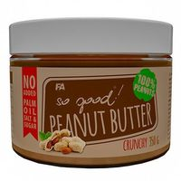 Fitness authority  so good peanut butter - 350g - crunchy