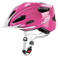 Kask rowerowy  quatro junior różowy, marki Uvex