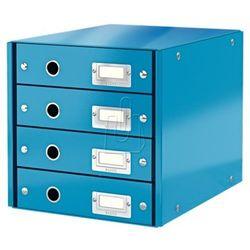 Pojemnik Leitz Click&Store z 4 szufladami niebieski 60490036