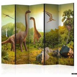 Selsey parawan 5-częściowy – dinozaury