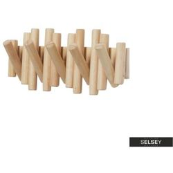 SELSEY Wieszak Picket drewniany (5903025224305)