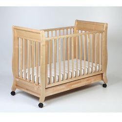 łóżeczko dziecięce romantica 120x60 naturalne marki Troll nursery