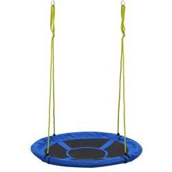 Elior Niebieska huśtawka ogrodowa dla dzieci - milino 3x