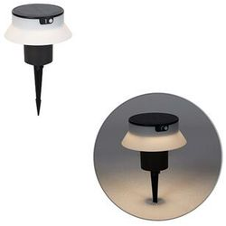 Design pin spot czarny z diodą led i ściemniaczem ip55 solar - felice marki Qazqa