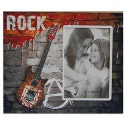 Ramka na zdjęcie stojąca - motyw z gitarą marki Vipolimex