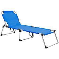 Niebieski leżak ogrodowy - Sollero
