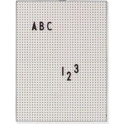 Tablica a4 jasnoszara marki Design letters