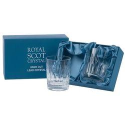Royal scot crystal szklanki sapphire do whisky 210ml 2szt.