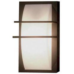 Zewnętrzna lampa ścienna sven 1w elewacyjna oprawa ogrodowa kinkiet na taras outdoor ip54 biały grafitowy marki Elstead