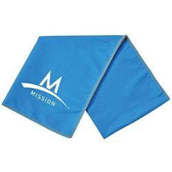 Chłodzący ręcznik MISSION Enduracool Microfiber Lrg Towel Hi Vis niebieski