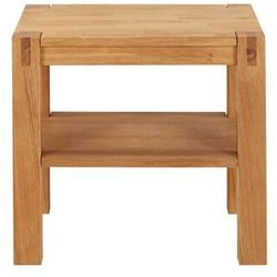 Stolik nocny drewniany BROCELIANDE II - 1 stolik - Dąb olejowany