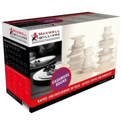 Maxwell & williams - cashmere villa - zestaw obiadowo - kawowy na 6 os.