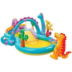 BASEN plac zabaw Dinoland INTEX w 24H! dobrebaseny