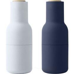 Menu Młynki do soli i pieprzu bottle grinder, classic blue dąb, 2 szt -