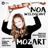 Mozart: Sonata 454, Violin Concerto No. 5, Adagio in E KV 261 (CD) - Wildschut Noa