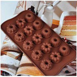FORMA SILIKONOWA MAŁE WZORKI czekoladki ciastka