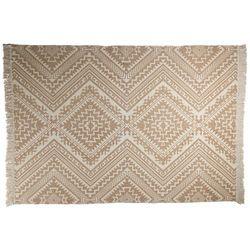 Vente-unique Dywan isay - 100% bawełny - 160 * 230 cm - beżowy