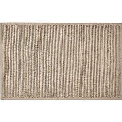 Dywanik łazienkowy plissé 50x80 cm beżowy